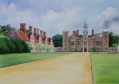 Blickling Hall summer