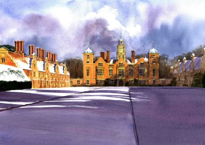 Blickling Hall Snow