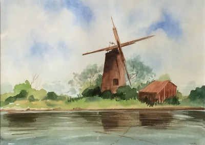 Oby Mill, Unrestored, Norfolk