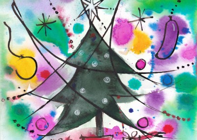 Christmas Tree after Miro