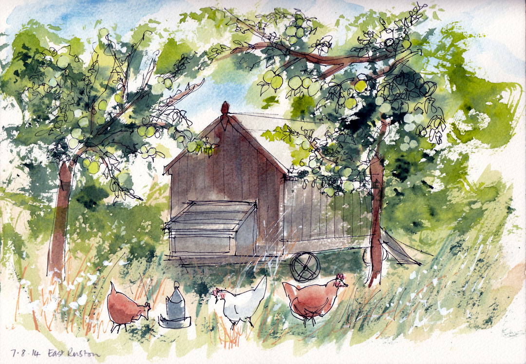 Orchard at East Ruston