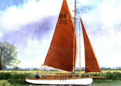 Red Sail Cruiser