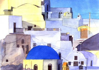 Greek Houses, Santorini