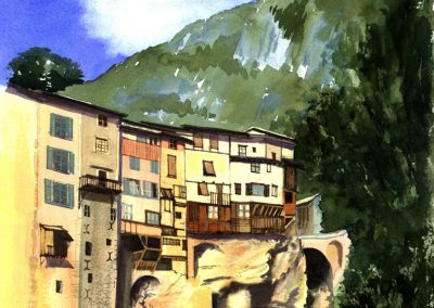 Hanging Houses, Vercors, France