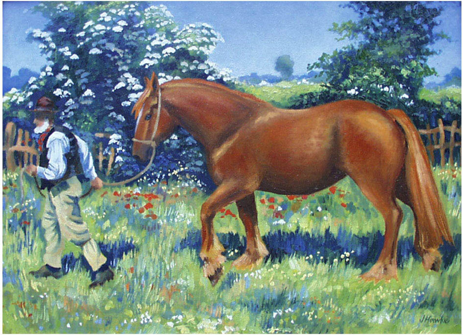 Sunny June after Munnings