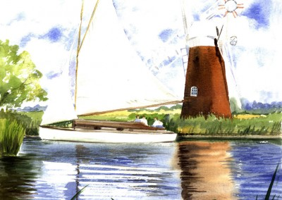 Thurne Mill and Cruiser